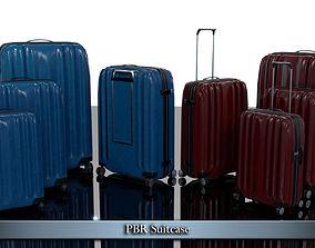 PBR Suitcase 3D model low-poly