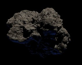 3D model Asteroid Space Meteor Rock