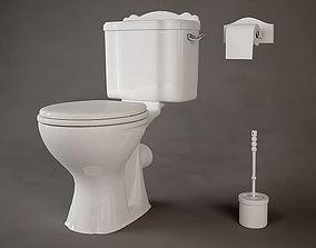 3D Salle De Bain Toilet