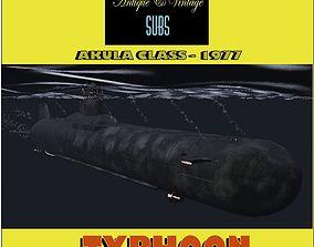 Typhoon Akula Class 3D