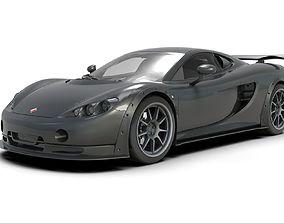3D model Ascari KZ1R Supercar