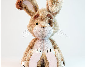 Toy rabbit 3D