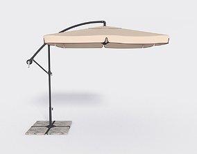 Deck Umbrella 6 3D model