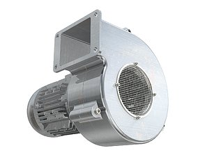 Industrial Centrifugal Blower Fan - 3D model