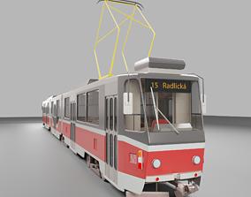 3D rigged Tatra KT8D5