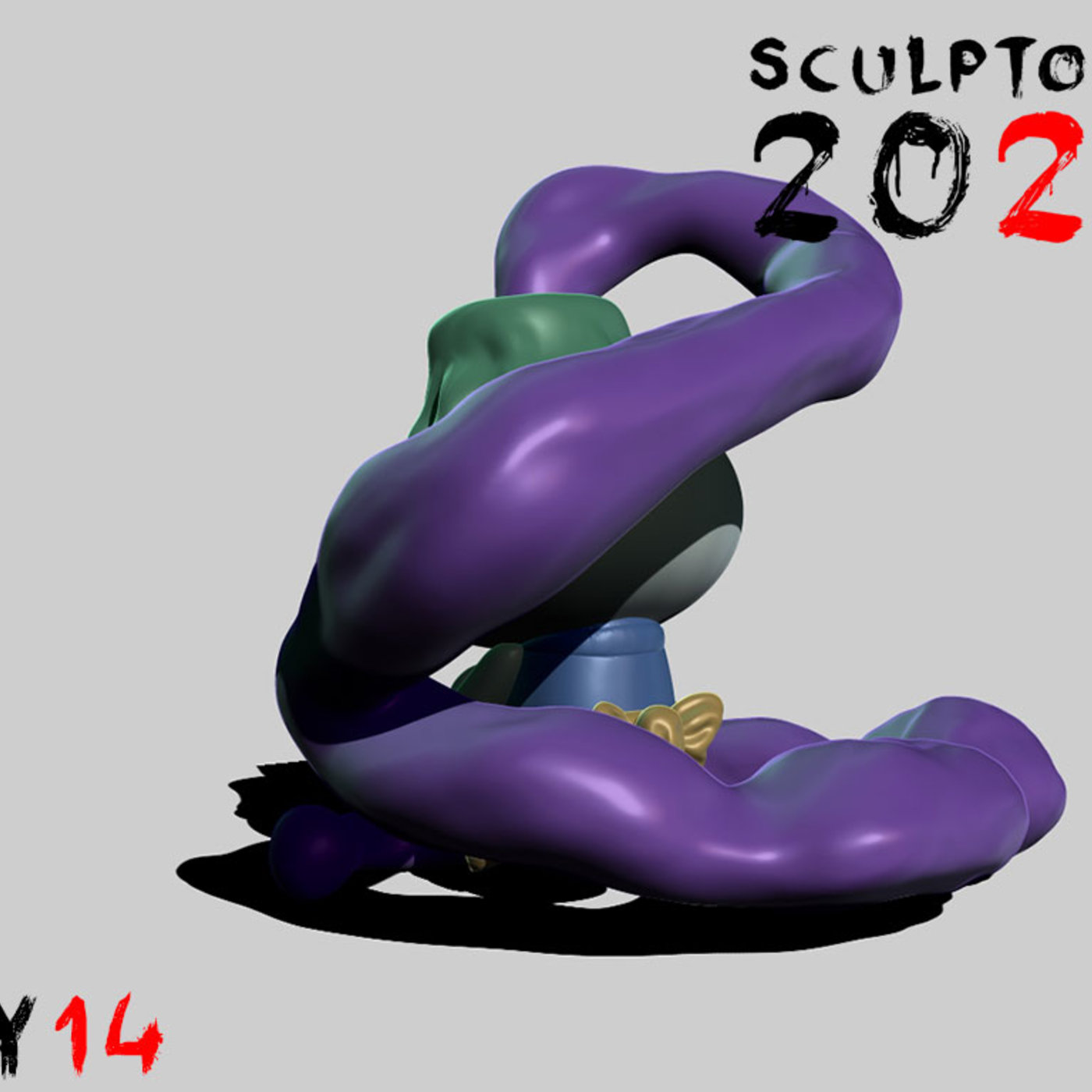 Sculptober Day 14 Sunk