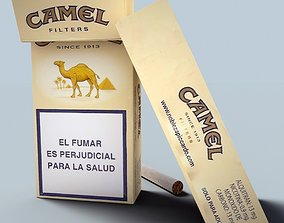 Camel cigarette pack 3D