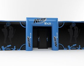 3D nerf maze