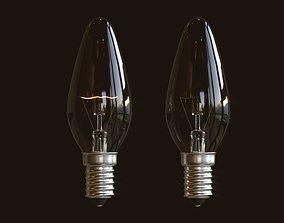 Incandescent Light Bulb 3D model PBR