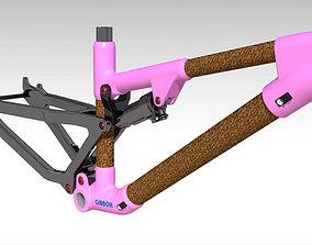 Frame MTB Full Suspension GB3 3D