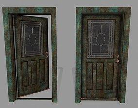 3D asset game-ready door 1