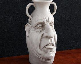 3D printable model Vase Face