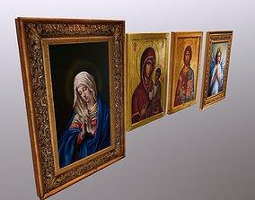 3D model Religious paintings