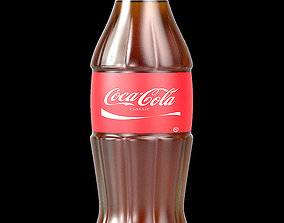 Coke Cola High Quality Rendering Model 3D