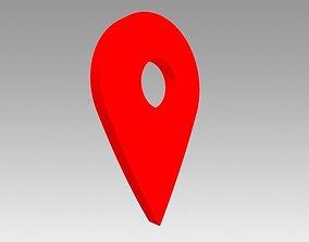 Map pointer 3D asset realtime