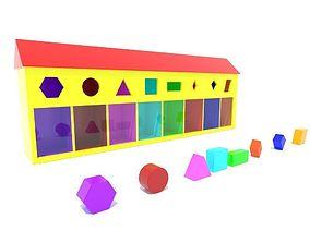 shape puzzle box 3D model