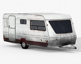 Caravan 03 3D asset