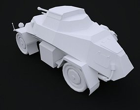 SD KFZ 222 3D model Low Poly