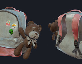 3D model Baggy Bear Bag