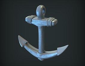 3D print model figurine Anchor