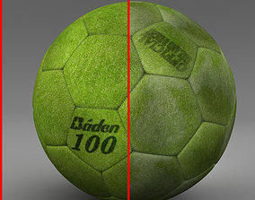 Soccer ball indoor baden 3D asset