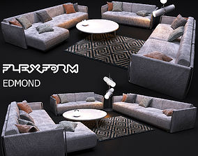 3D model sofa FLEXFORM EDMOND