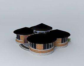 costal resort 3D model