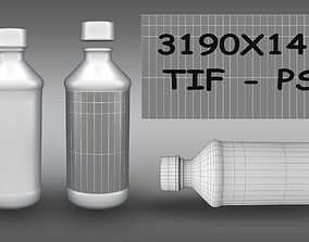 Prometh with codeine bottle 3D model