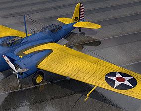 3D Martin B-10B
