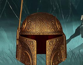 Deluxe Mandalorian Helmet 3D Print Ready