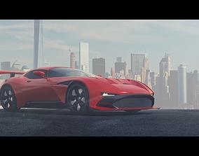 3D model Aston Martin Vulcan
