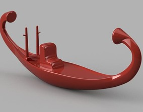 3D print model Ancient Egyptian boat from de Pharaohs