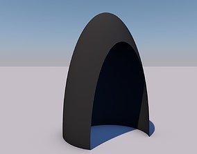 3D printable model vegetable peeler