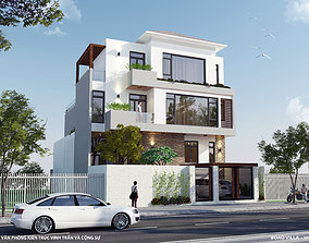 Architec luxurious villa 3D