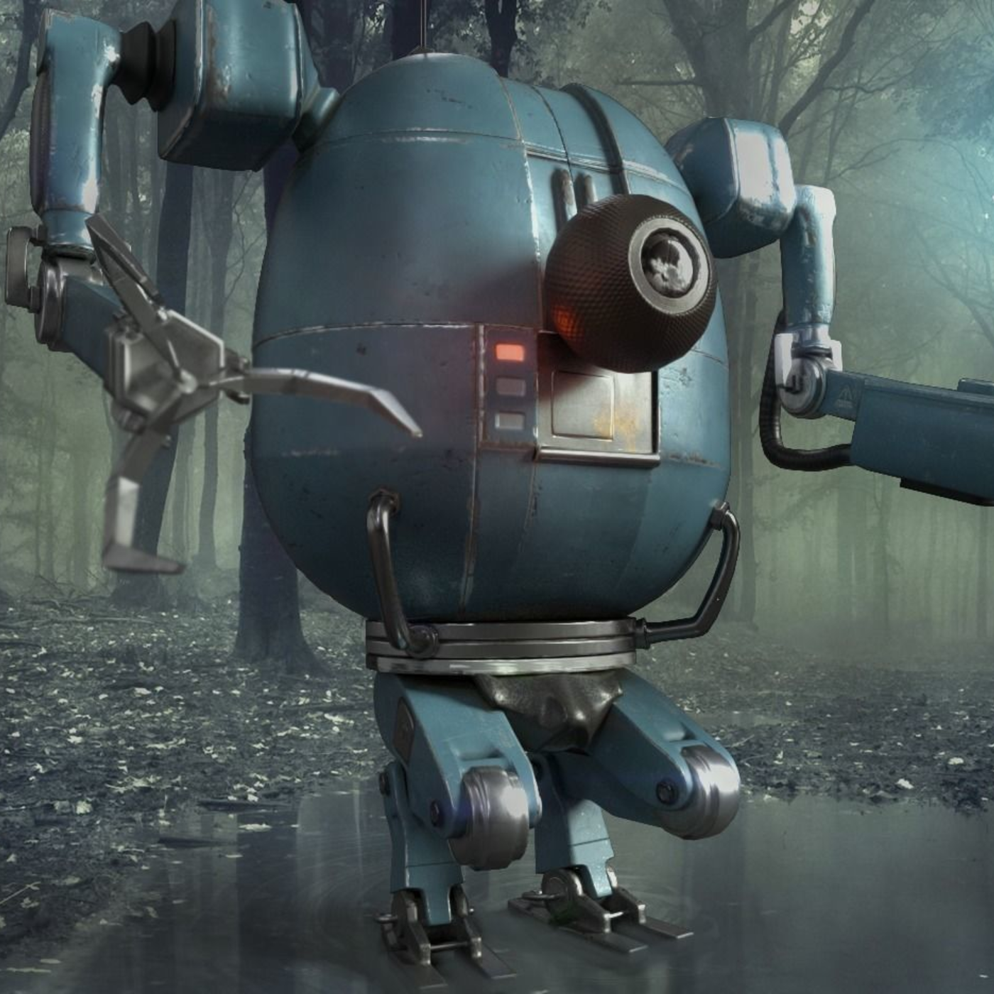 PBR Robot - from personal concept