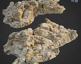 3d scanned rock cliff O2