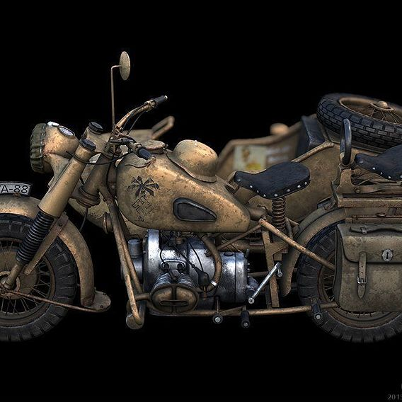 bmw r75 wehrmacht motorcycle