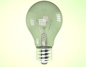 Lightbulb power 3D model