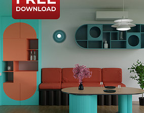Vietnam Apartment Interior 3D model