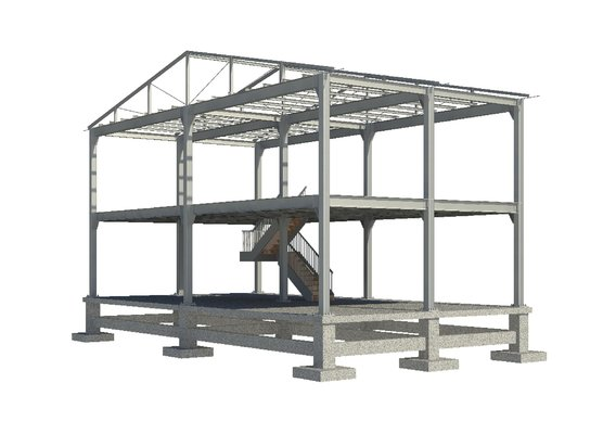 Steel Structure Modeling