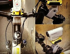 3D printable model Camera mount on the handlebars of