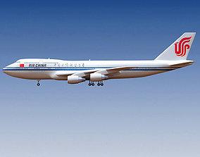 Air China Boeing 3D