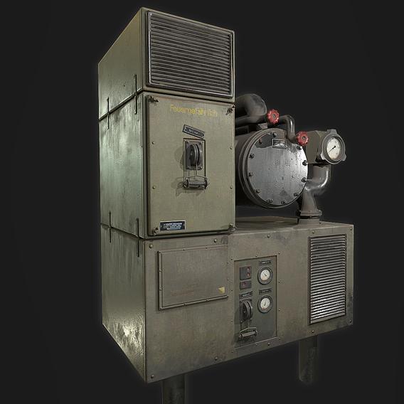 1944 - V2 Factory Bunker prop