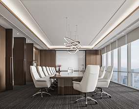 Financial company meeting room 3D