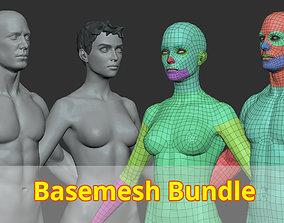 3D Basemesh Bundle