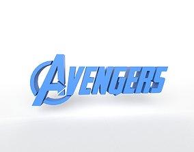 Avengers Logo v1 004 3D model