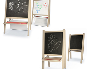 Children Blackboards Mala 3D model