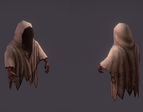 3D Ghost enemy with animations