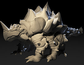 3D printable model Turtle Tarasque Beast figurines
