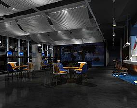 Hotel entertainment KTV bar disco Sing 08 3D model